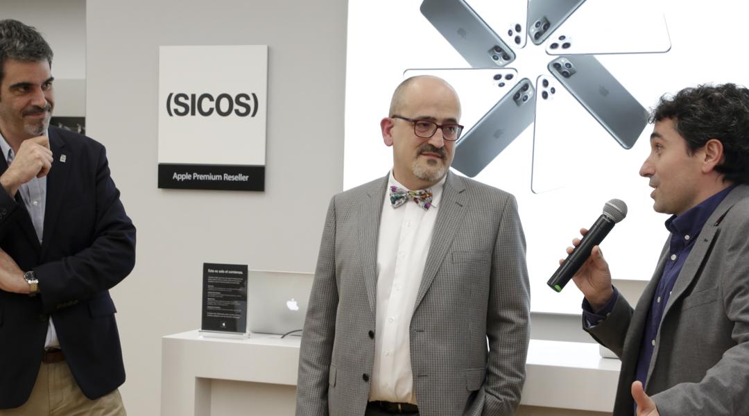 Inauguración de la tienda SICOS