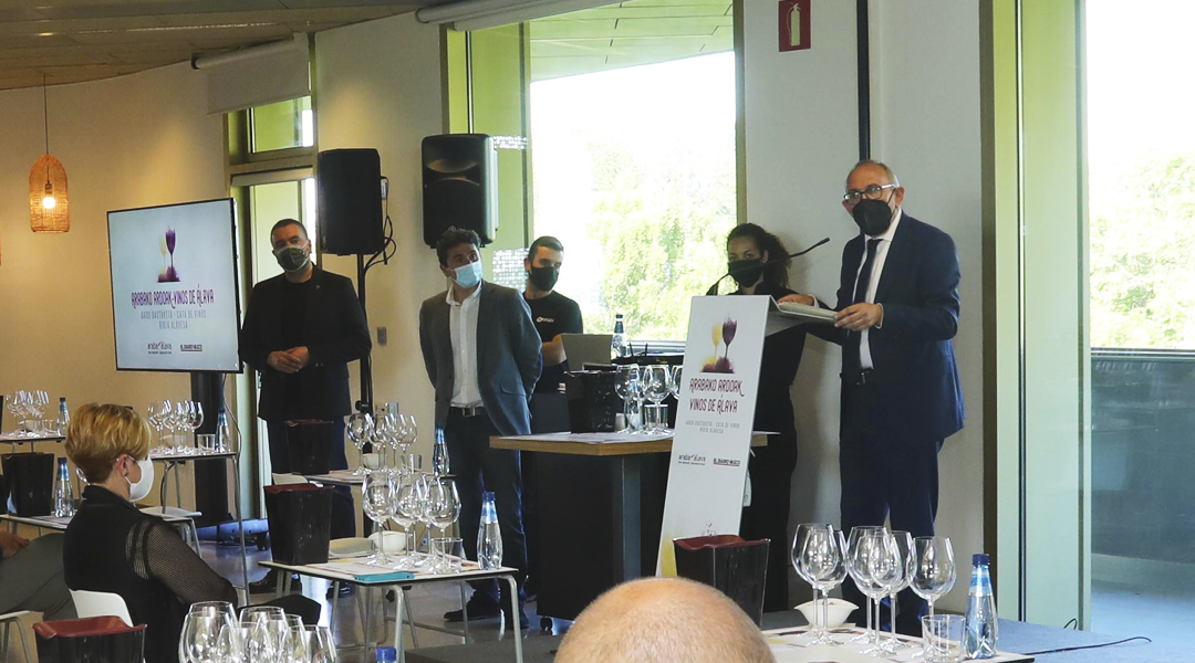 Cata de vinos de Rioja Alavesa