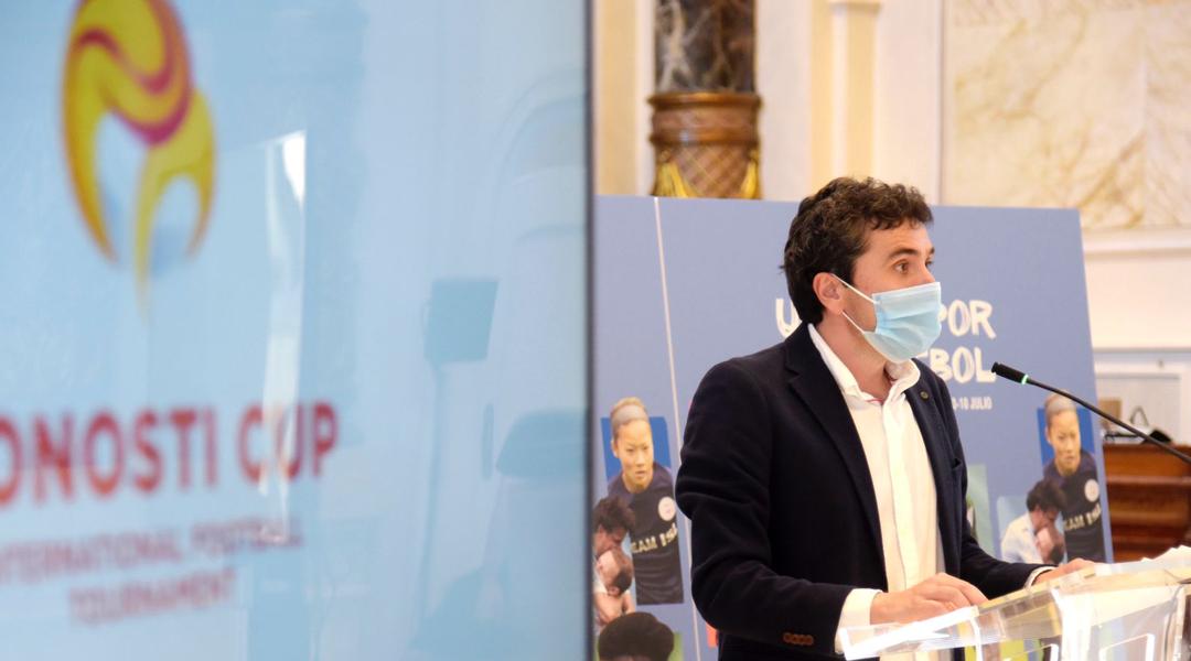 Presentación de la 29ª edición Donosti Cup